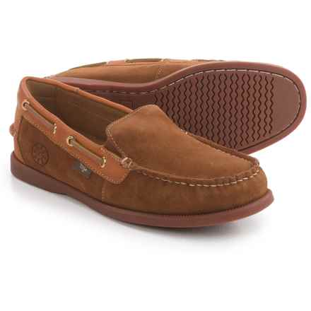 Dije California Gianni Loafers - Suede (For Men) in Chestnut - Closeouts