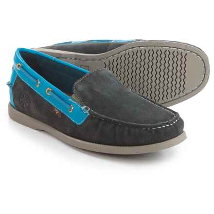 Dije California Gianni Loafers - Suede (For Men) in Grey - Closeouts