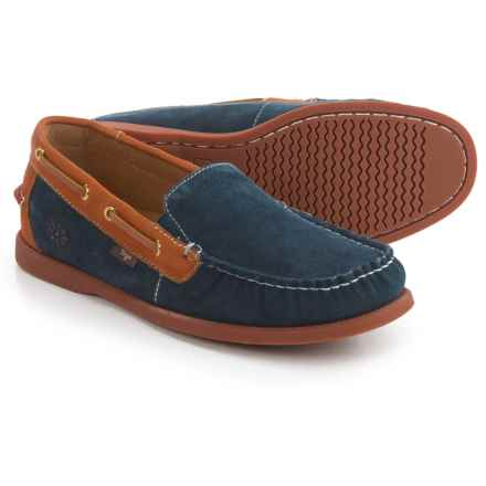 Dije California Gianni Loafers - Suede (For Men) in Navy - Closeouts