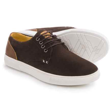 Dije California Lone Star Shoes - Suede, Lace-Ups (For Men) in Chocolate - Closeouts