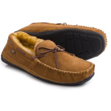 Dije California Santa Fe Moccasins - Suede (For Men) in Chestnut - Closeouts