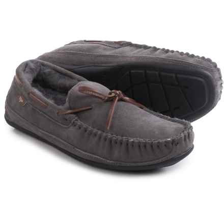 Dije California Santa Fe Moccasins - Suede (For Men) in Grey - Closeouts