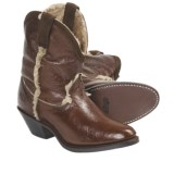 Dingo 5 Below Cowboy Boots - Shearling Lining (For Women)