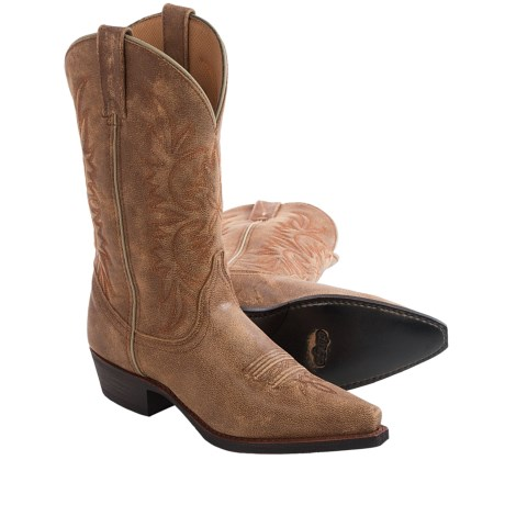 Dingo Crackle Cowboy Boots Leather, Snip Toe (For Women)