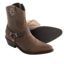 Dingo Drop It Low Cowboy Boots - Leather (For Women) in Brown - Closeouts