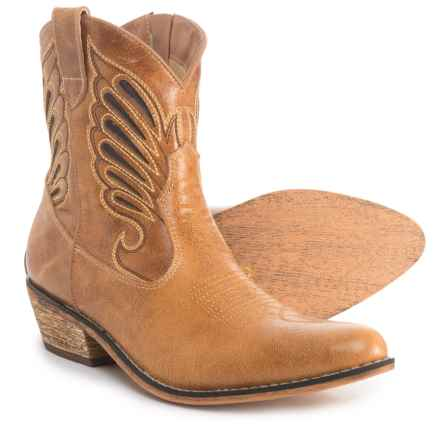 Dingo Low Western Boots (For Women) in Tan Underlay - Closeouts