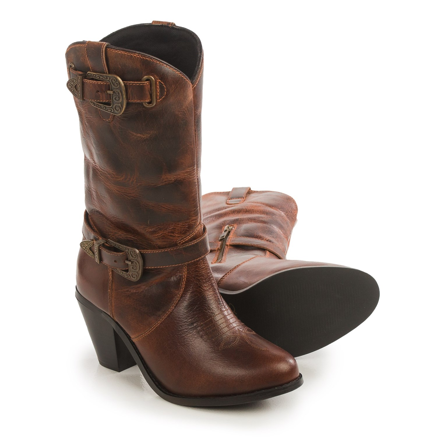 Dingo Nelly Cowboy Boots (For Women) - Save 86%