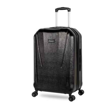 "Discovery Adventures 20"" Canyon Collection EXP Hardside Twister Carry-On Suitcase in Black - Overstock"