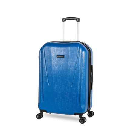 """Discovery Adventures 20"""" Canyon Collection EXP Hardside Twister Carry-On Suitcase in Blue - Overstock"""