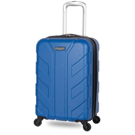 "Discovery Adventures 20"" Tahoe Collection EXP Hardside Twister Spinner Suitcase in Blue"