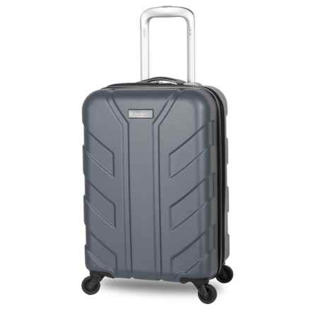 "Discovery Adventures Tahoe Collection EXP Hardside Twister Spinner Suitcase - 20"" in Charcoal - Overstock"