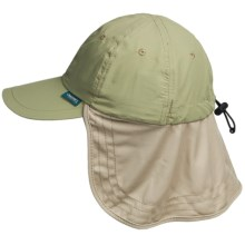 Discovery Expedition Cool Comfort Flap Cap (For Men and Women) in Khaki - Closeouts