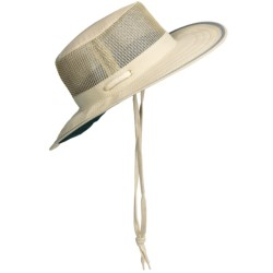 Discovery Expedition Sailing Hat - UPF 50+ (For Men and Women) in Natural