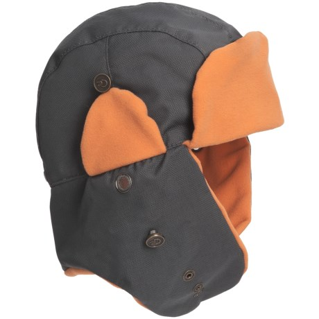 Discovery Expedition Techpore Trapper Hat (For Men and Women) in Grey
