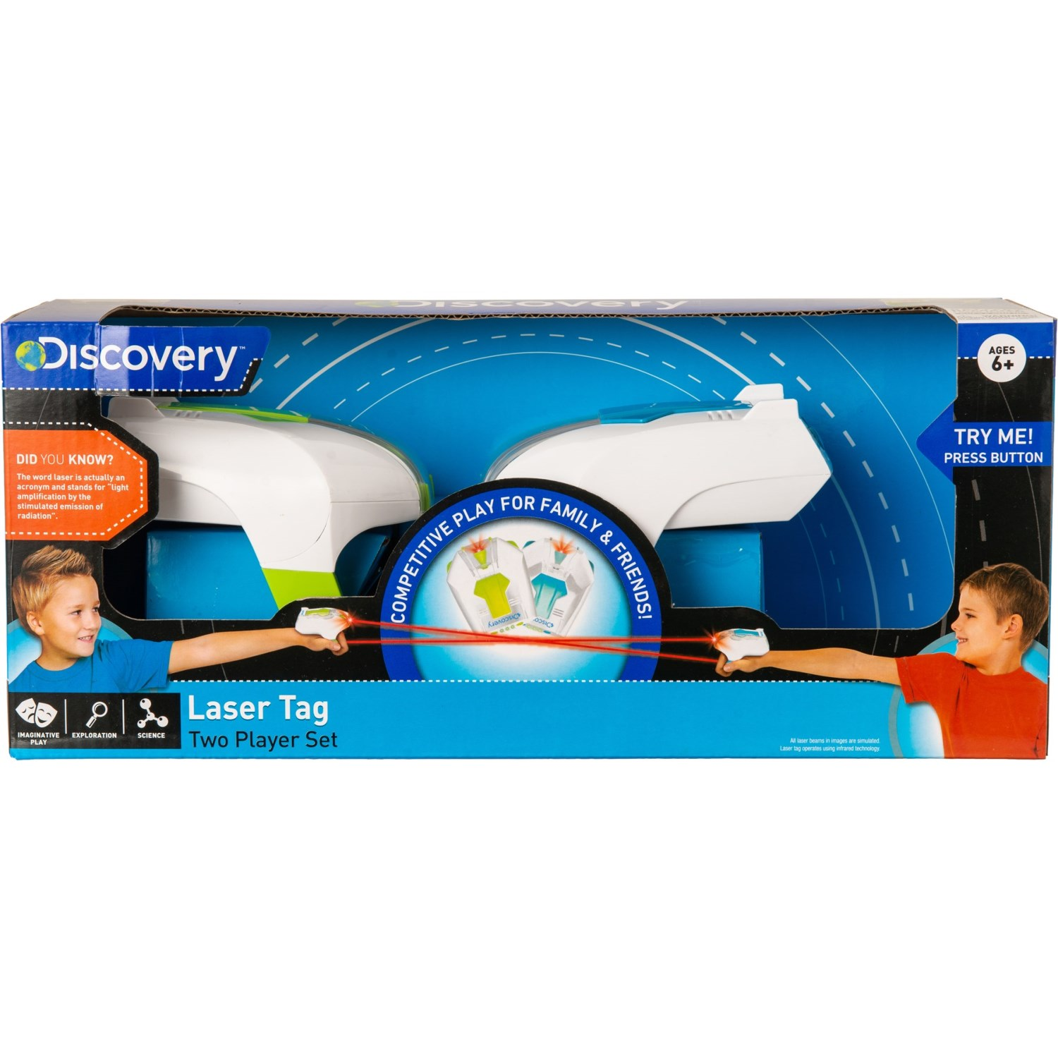 Discovery Kids Laser Tag Play Set - Save 66%