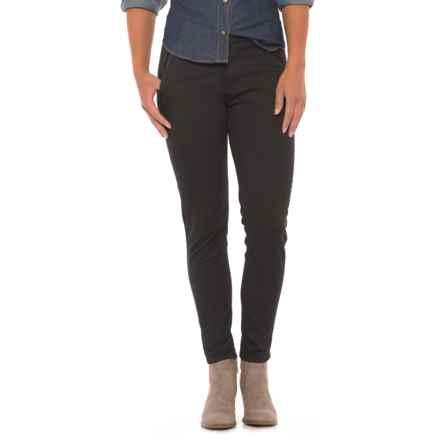 dish denim Never Fade Pants (For Women) in Tuxedo Black - Closeouts