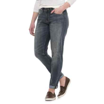 Dish dish denim CoolMax® Relaxed Skinny Jeans (For Women) in Dirty Wash - Closeouts