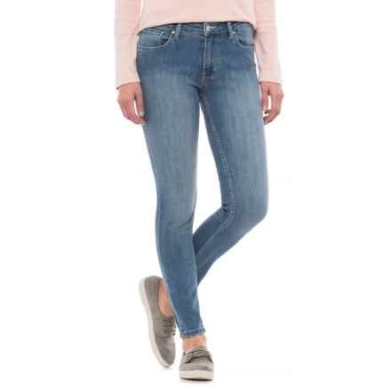 Dish dish denim Skinny Jeans (For Women) in Light Bleach Stone - Closeouts