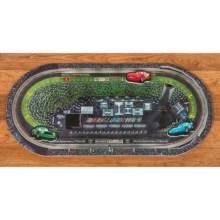 Disney Cars Race Track Floor Mat in Cars - Closeouts