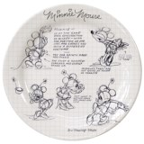 Disney Sketch Book Dinner Plate - Set of 4