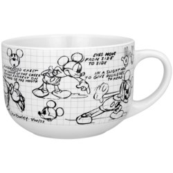 Disney Sketchbook 28 oz. Soup/Chili Mugs - Set of 4 in Mickey Mouse