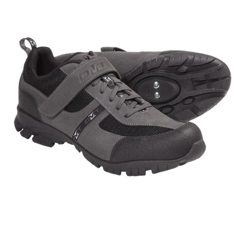 DMT Apex Freeride Mountain Bike Shoes - SPD (For Men) in Grey