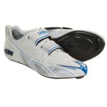 DMT Breeze Carbo Triathlon Cycling Shoes - 3 Hole (For Men) in Ice - Closeouts