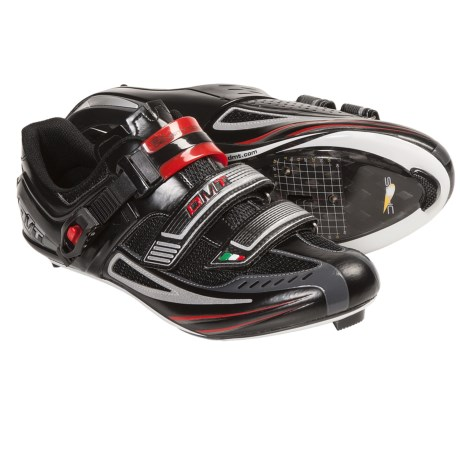 DMT Impact Road Cycling Shoes - 3-Hole (For Men) in White/Red