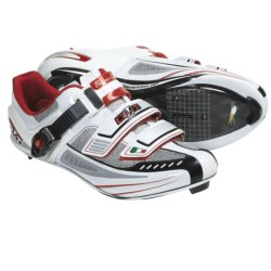DMT Impact Road Cycling Shoes - 3-Hole (For Women) in White/Red