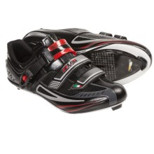 DMT Impact Road Cycling Shoes - SPD, 3-Hole (For Men) in Black/Red - Closeouts