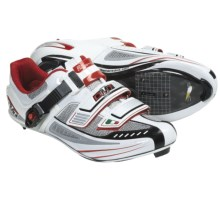 DMT Impact Road Cycling Shoes - SPD, 3-Hole (For Men) in White/Red - Closeouts