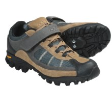 DMT Kondo Freeride Mountain Bike Shoes - SPD (For Men) in Brown - Closeouts