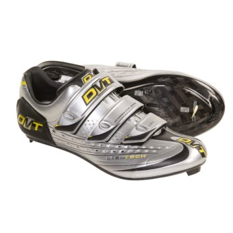 DMT Kyoma Road Cycling Shoes - Carbon, 3 Hole (For Men) in Silver