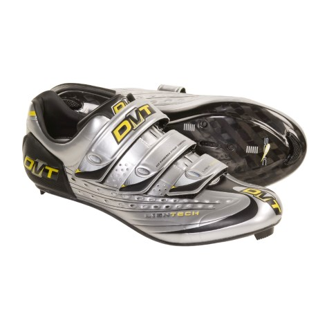 DMT Kyoma Road Cycling Shoes - Carbon, 3-Hole (For Men) in Silver