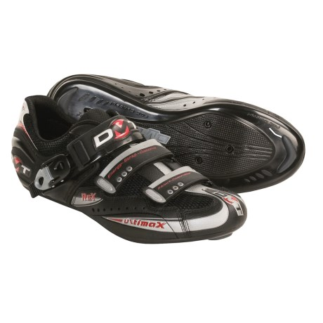 DMT Ultimax Spirit Road Cycling Shoes - 3 Hole (For Men) in Black