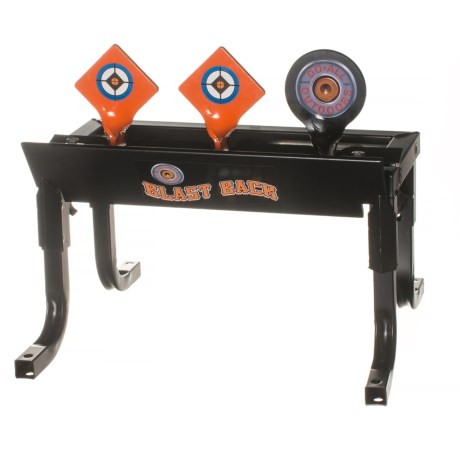 Do-All Outdoors Blast Back Resetting Target - 0.22/0.17 Caliber in See Photo