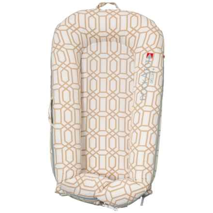 DockATot Goldy Trellis Deluxe Plus Baby Sleeper in Goldy Trellis - Closeouts