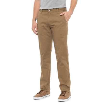Dockers Alpha Original Slim Khaki Pants (For Men) in Tan - Closeouts