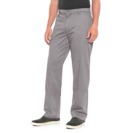 Dockers Burma Washed Classic Khakis (For Men) in Grey - Closeouts