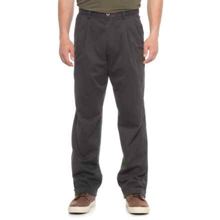 Dockers Classic Fit Comfort Khakis (For Men) in Black - 2nds
