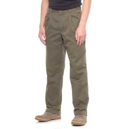 Dockers Classic Fit Comfort Khakis (For Men) in Olive - 2nds