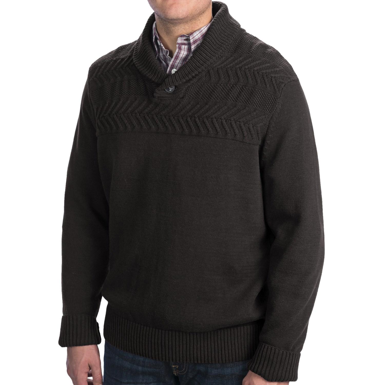 Collar Sweater For Men