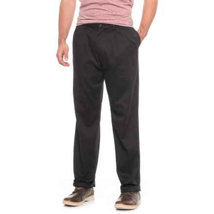 Dockers D4 Khaki Pants - Relaxed Fit (For Men) in Black - 2nds