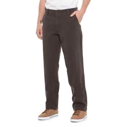 Dockers Downtime Khaki Pants - Straight Leg (For Men) in Java Chocolate - Closeouts