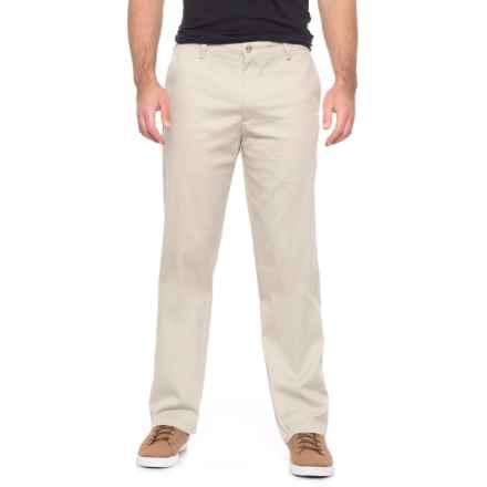 Dockers Flat Front Classic Pants (For Men) in Stone - 2nds