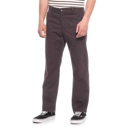 Dockers Flat Front Slim Fit Pants (For Men) in Black - 2nds