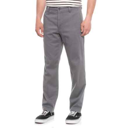 Dockers Flat Front Slim Fit Pants (For Men) in Grey - 2nds