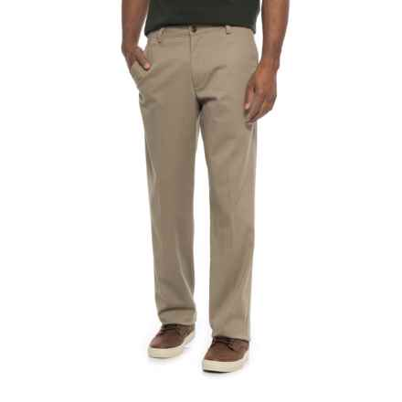 Dockers Flat Front Slim Fit Pants (For Men) in Khaki - 2nds