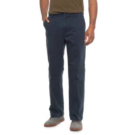 Dockers Flat Front Slim Fit Pants (For Men) in Navy - 2nds