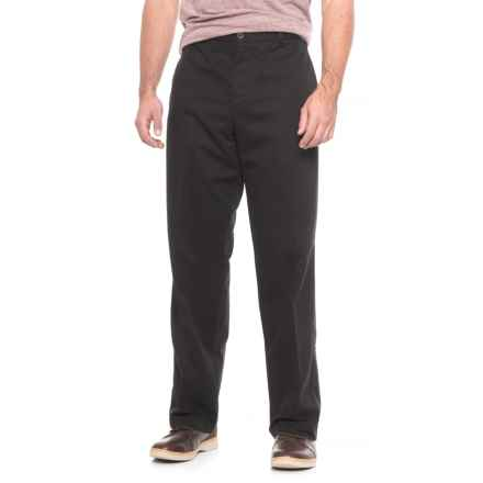 Dockers Iconic Khakis - Relaxed Fit (For Men) in Black - 2nds